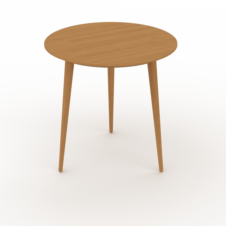 Table basse - Chêne, ronde, design scandinave, petite table pour salon... par LeGuide.com Publicité
