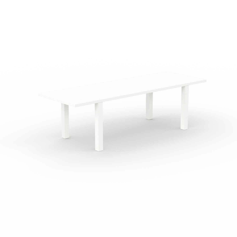 Table à manger extensible - Blanc, moderne, pour salle à manger ou cuisine,... par LeGuide.com Publicité