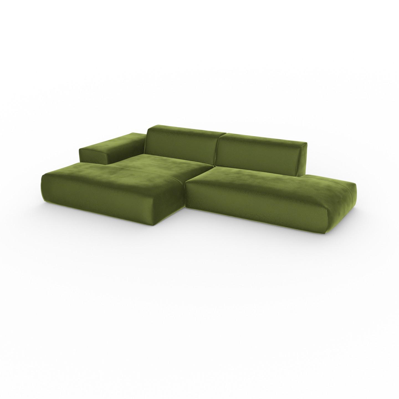 canape vert olive modele