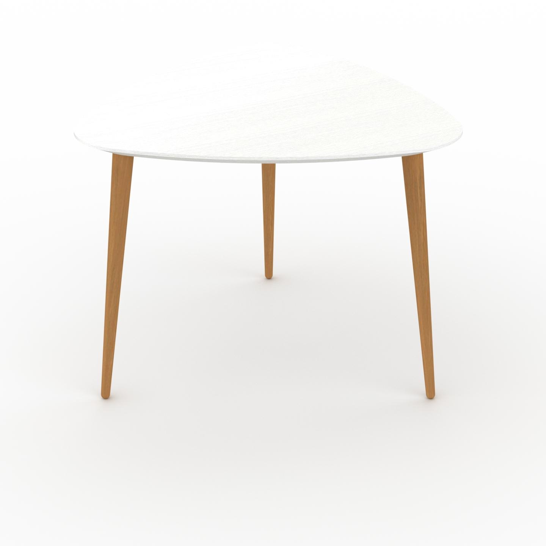 Table basse - Blanc, triangulaire, design scandinave, petite table pour... par LeGuide.com Publicité