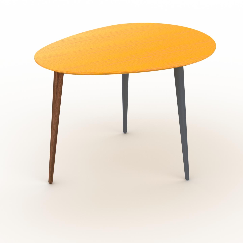 Table basse - Jaune, ovale, design scandinave, petite table pour salon... par LeGuide.com Publicité