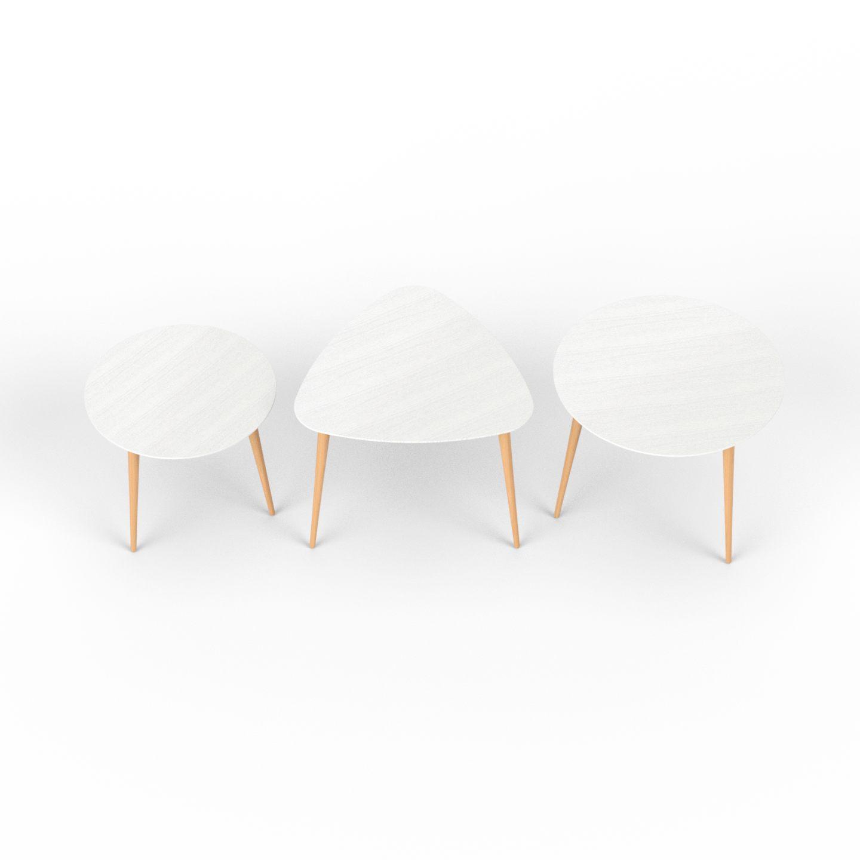 Beistelltisch 3er Set Lounge Tisch Couchtisch Lede