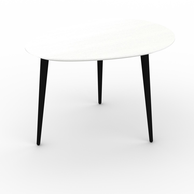 Table basse - Blanc, ovale, design scandinave, petite table pour salon... par LeGuide.com Publicité