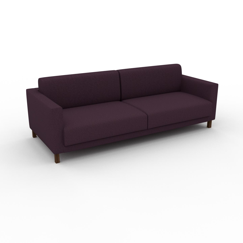 Sofa Auberginenlila - Moderne Designer-Couch: Hochwertige ...